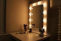 Vanity Mirror With Lights Around It in Lighting | Home ...