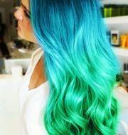 aqua hair ideas