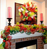 Christmas Garlands | Christmas Garland, Deco Mesh Garland ...