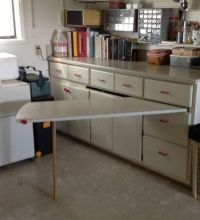 Pull out table built in | For the Home | Pinterest | Tiny ...