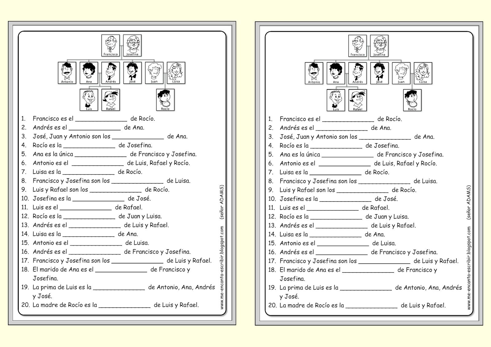 Estos Documentos Te Permiten Trabajar El Vocabulario Y Los