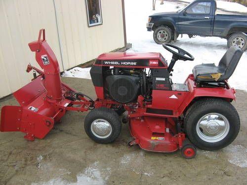 Toro Wheel Horse Tractor Attachments