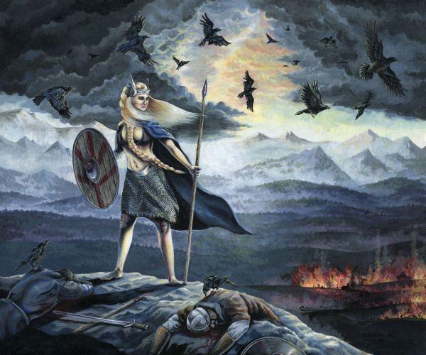 Norse Mythology Art Paintings