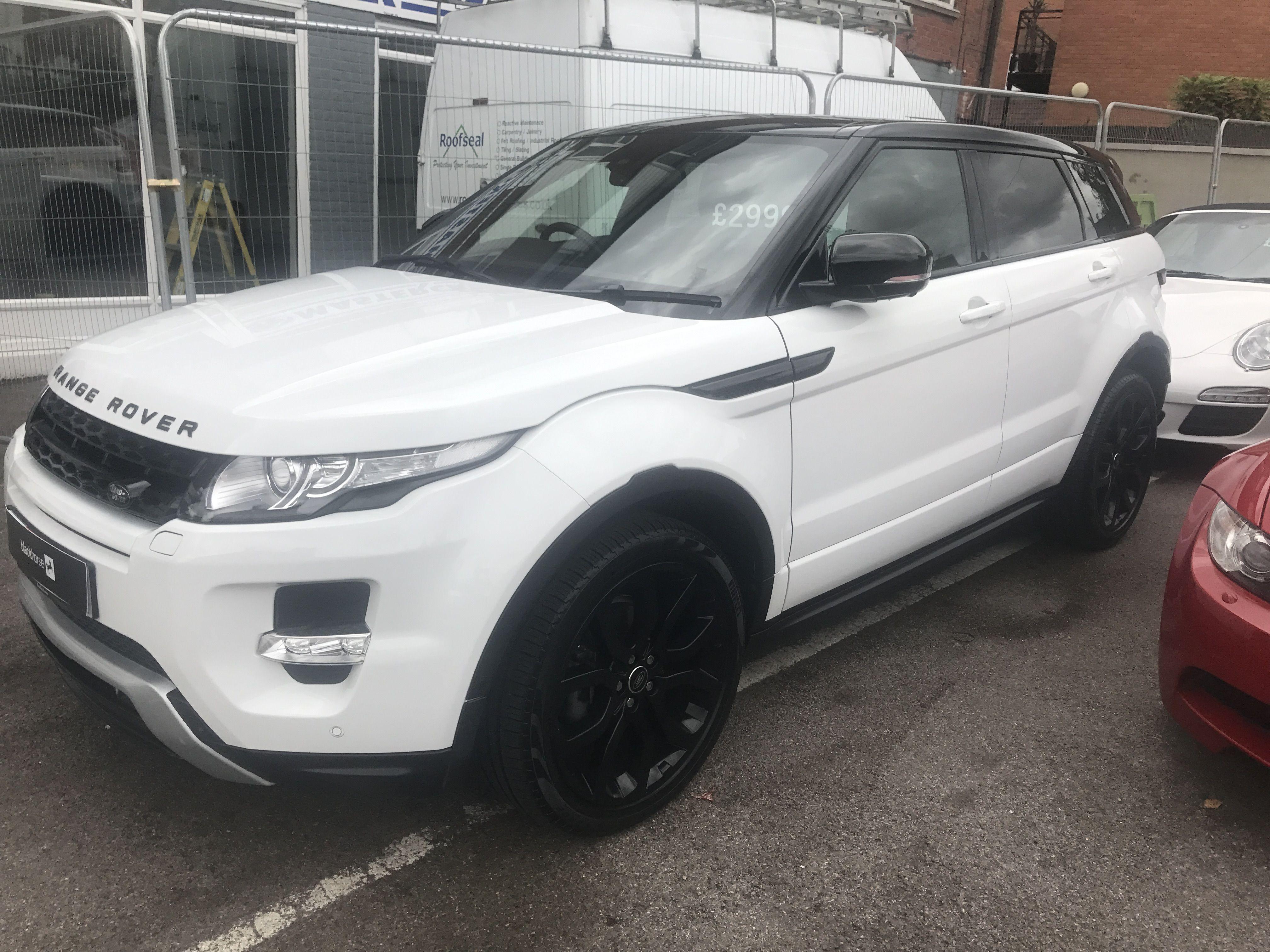 White Range Rover Evoque for sale in Hertfordshire at Master Car