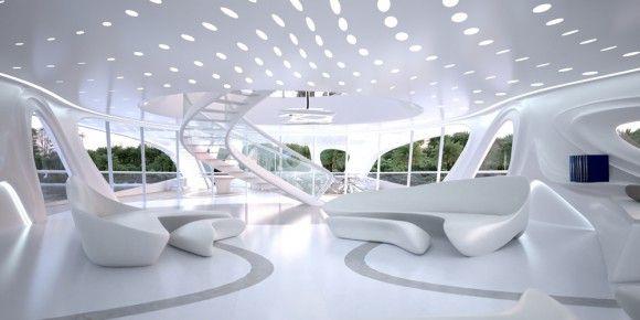 Organic Interior Or Exhibition Design Inspiration Organisch