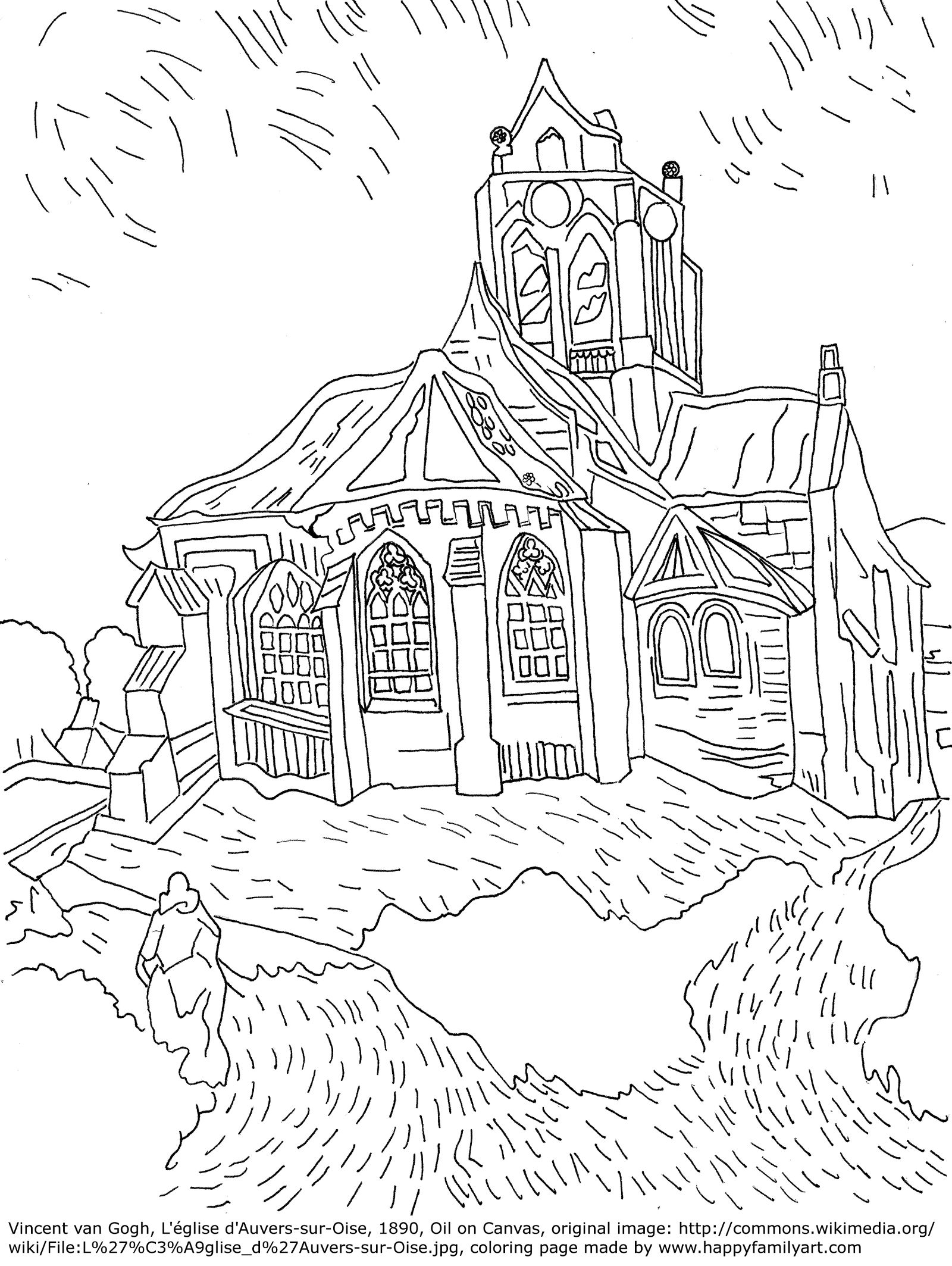 Famous Paintings Coloring Pages Please Make Sure To Know That All Of These Coloring Pages Are