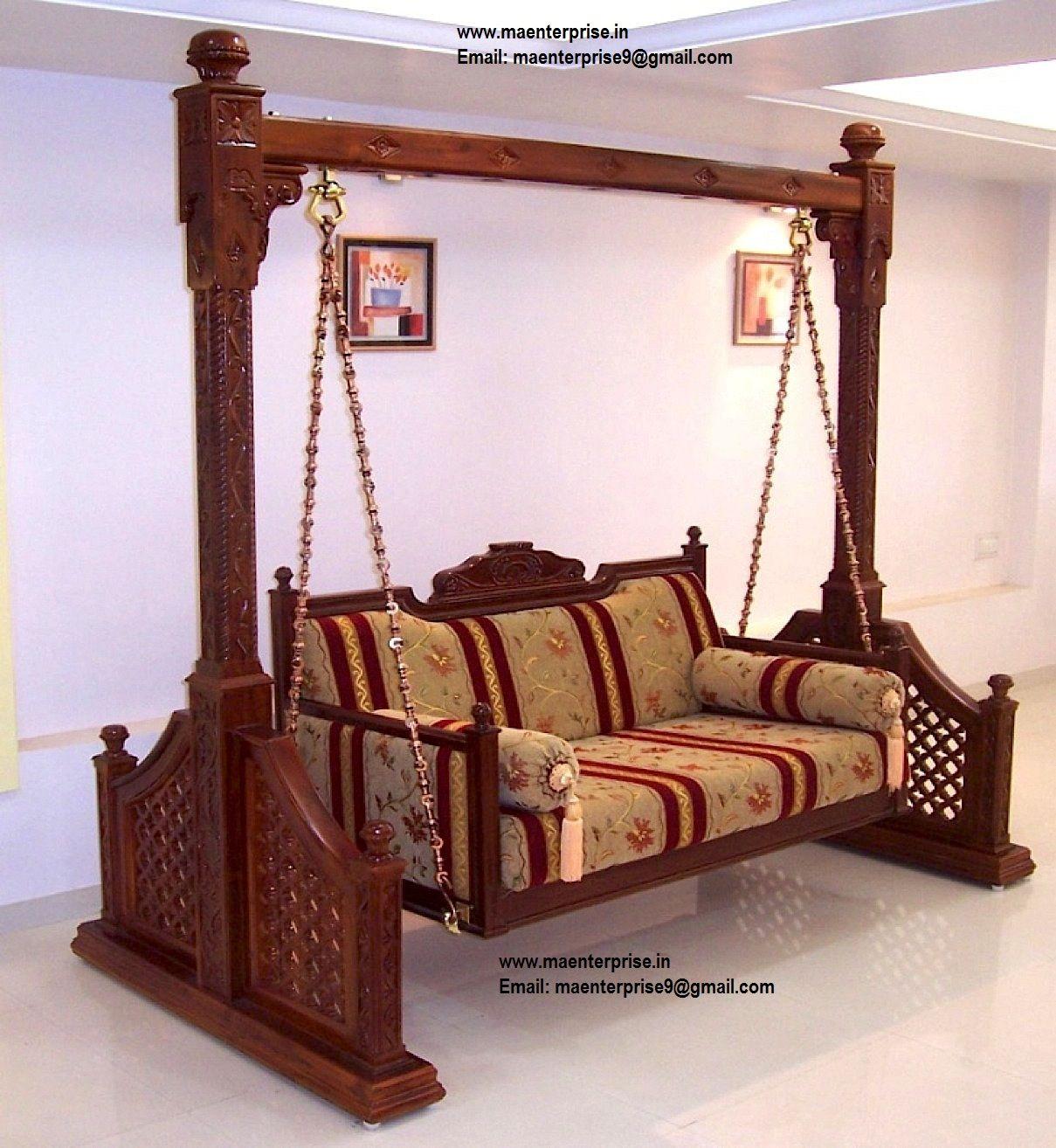 steel chair jhula backs for bleachers indian home decor jhoola swing jula pinterest wooden