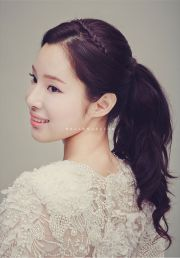 korean hairstyle ponytail fade