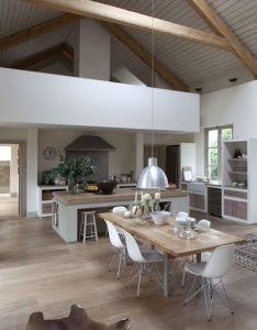 La cuisine   est beys house interiorsinterior designingarchitecture also rustico pinterest mezzanine rh