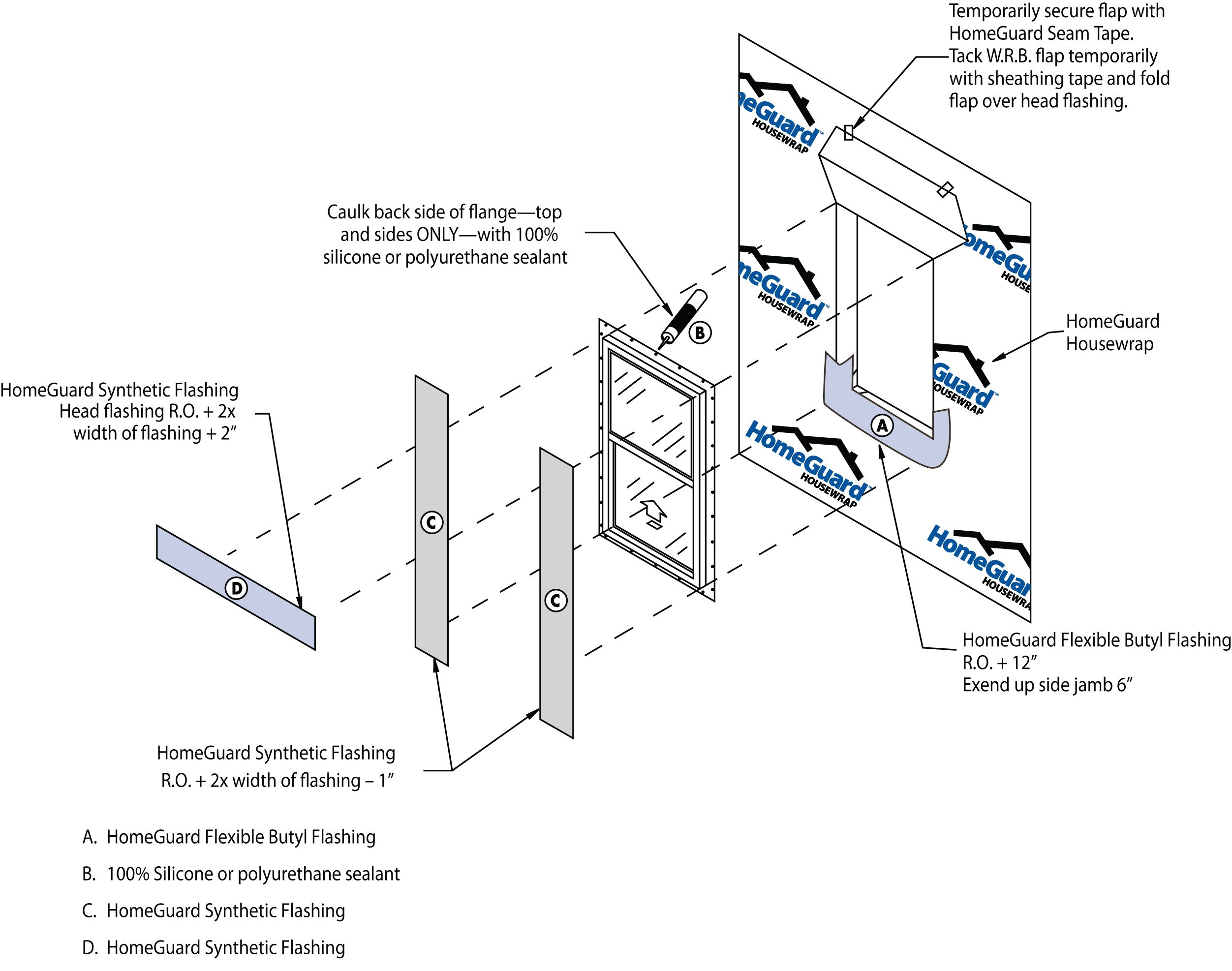 Housewrap Installation And Window Flashing Guide
