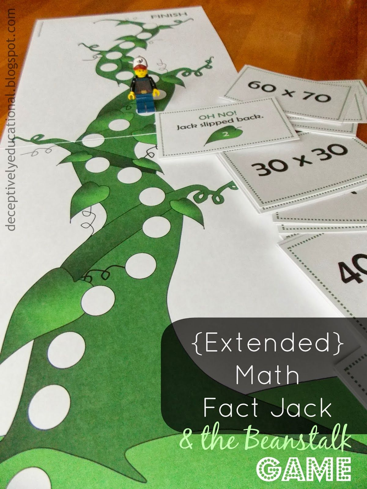 Relentlessly Fun Deceptively Educational Free Printables Jack Amp The Beanstalk Game
