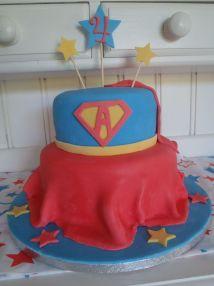 Supergirl Birthday Cake Ideas