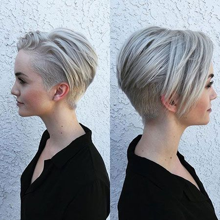 Besten Pixie Cut Frisur Haare Pinterest