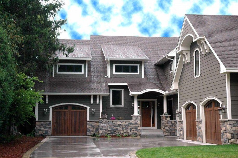 Exterior Paint Colors Wood Siding Photo 5 Houses Pinterest
