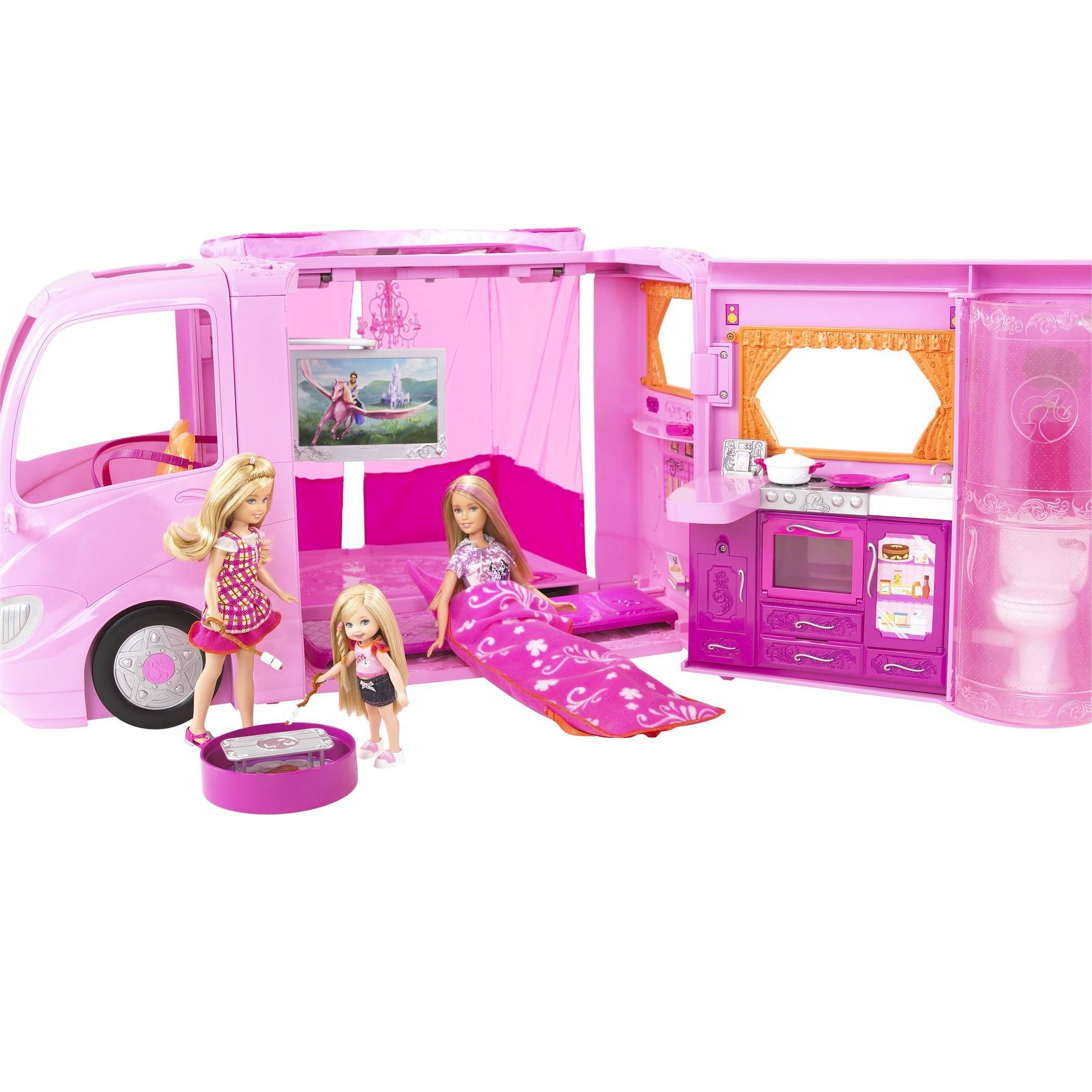 Barbie Life In The Dreamhouse Coloring Pages