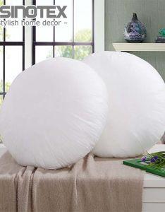 Non woven fabrics throw pillow inner round for cushion insert filling filler sofa decorative decor also rh pinterest