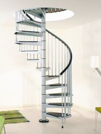 Civik Spiral Staircase 1400mm > Metal spiral staircase ...