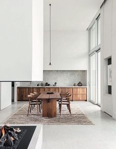 Antwerp penthouse apartment by architect hans verstuyft photographed as feature on vogue living also pin sus cocina pinterest interiors dining and kitchens rh