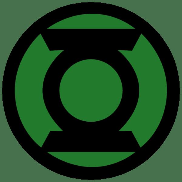 Green Lantern Corps Symbol Fill -droy Comics Symbols