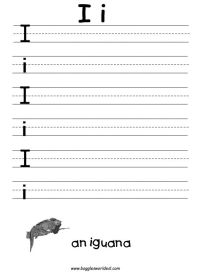 Letter I Worksheets | Alphabet Letter I Worksheets | Rodie ...