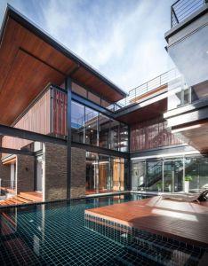 Bridge house by junsekino architect and design also architects rh pinterest