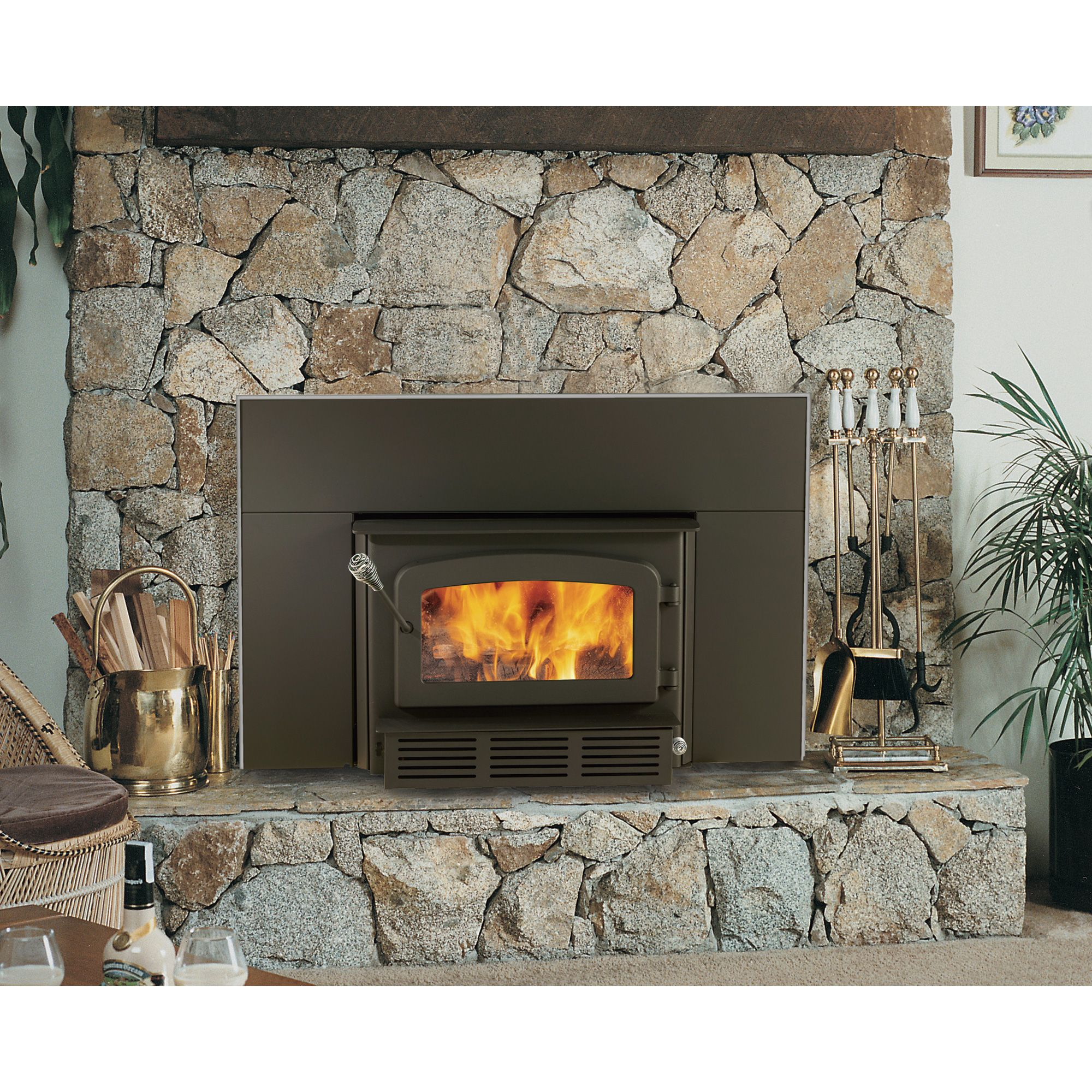 Fireplace Gas Fireplace Cost To Convert High Efficiency Wood Convert Your Costly Inefficient Masonry Fireplace With