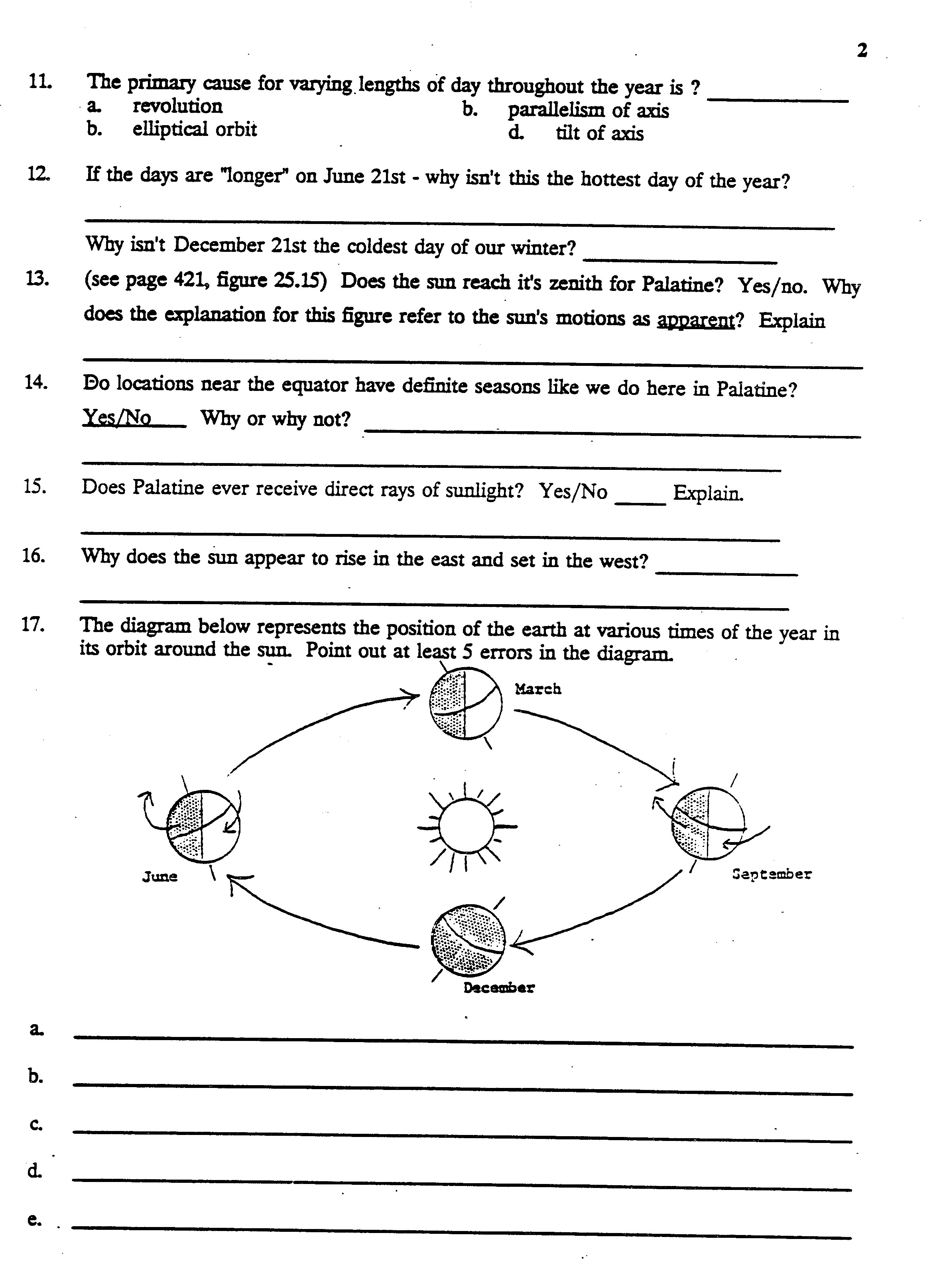 sun diagram worksheet grand cherokee radio wiring search results for earth and  calendar 2015