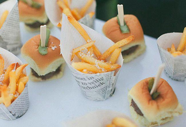 Wedding Finger Foods, Finger
