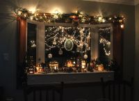 decorations for bay windows | What a wonderfull Christmas ...