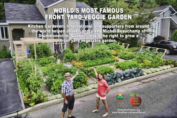 World's Most Famous Front Yard Vegetable Garden Gardens