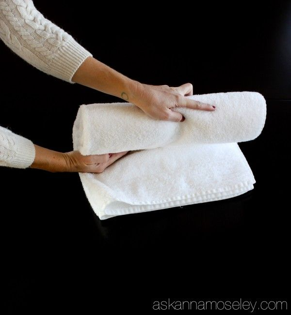 Best 25 Folding bath towels ideas on Pinterest  Folding
