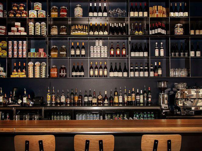 back bar storage / design