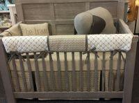 Tan Arrow crib bedding set called Nottingham by Pine Creek ...