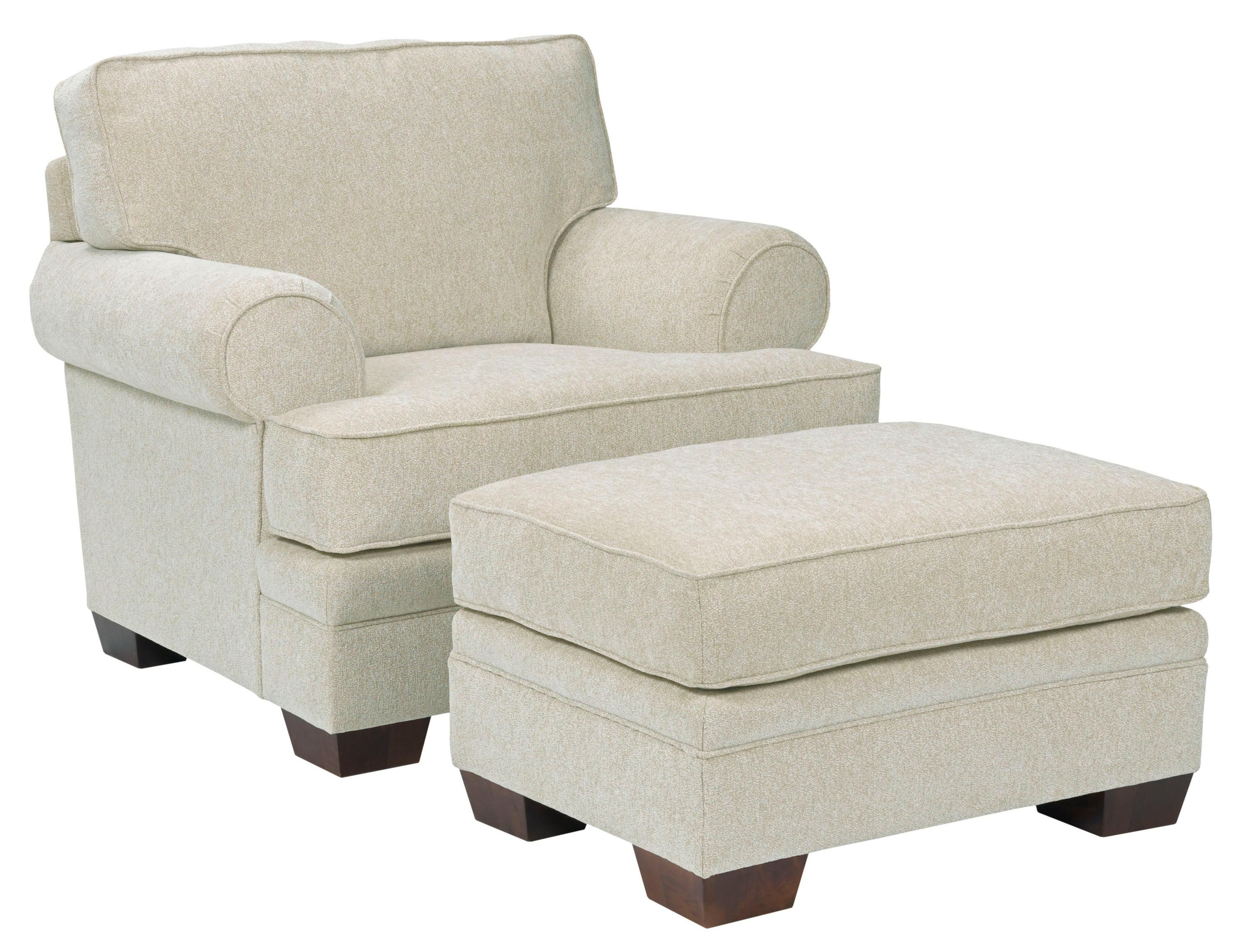 broyhill landon sofa sofas etc simi valley transitional chair and ottoman set by