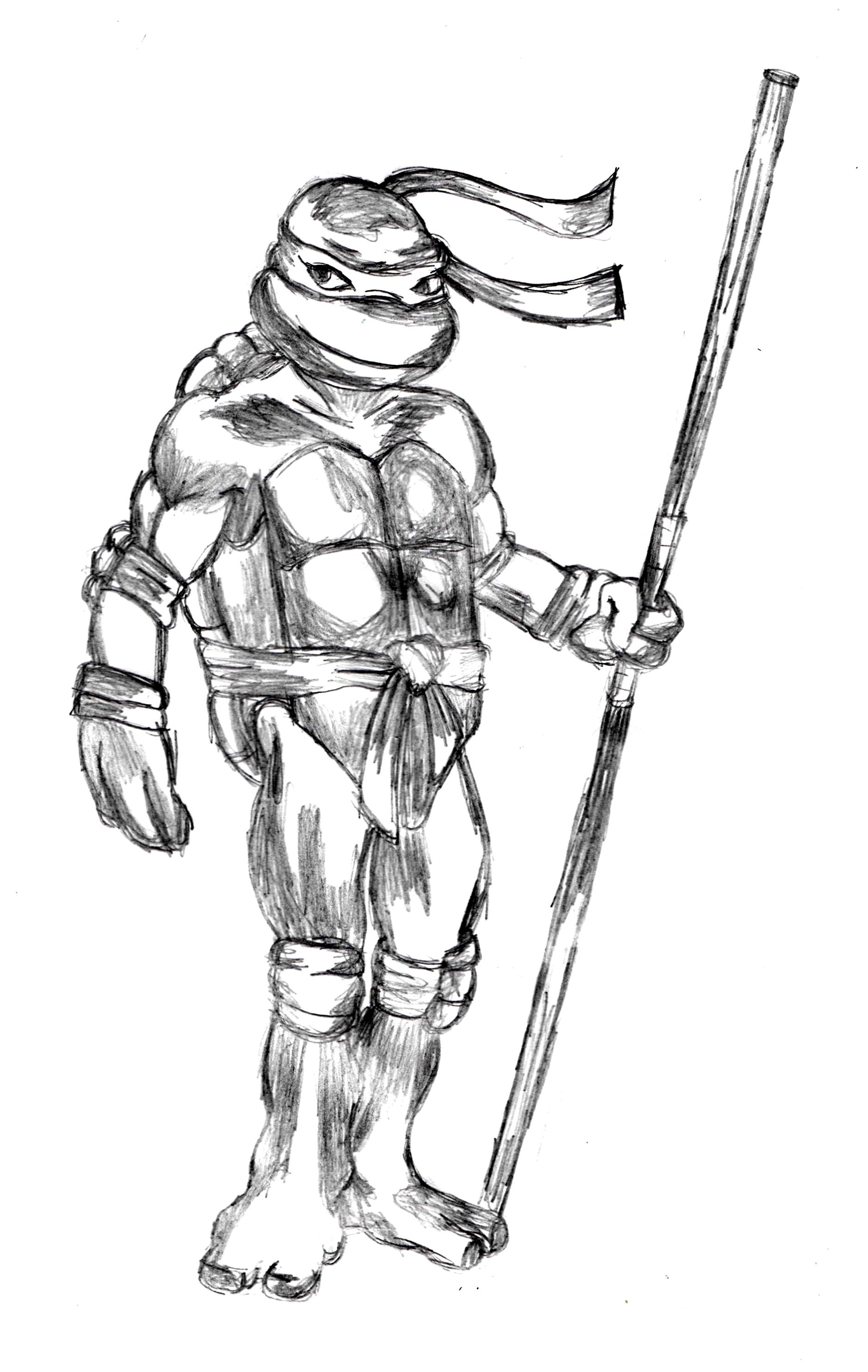 Donatello sketch http://drawingmanuals.com/manual/how-to