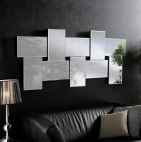 Ceres Large Modern Bevelled Wall Mirrors | Diseo de sala ...