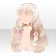 anime hair light blonde white