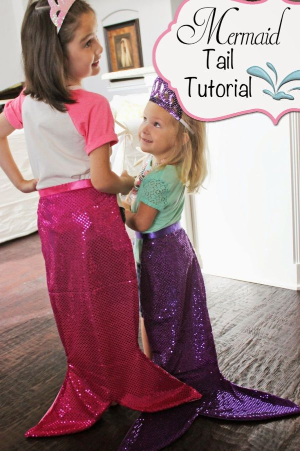 Mermaid Tail Tutorial Full -. Includes