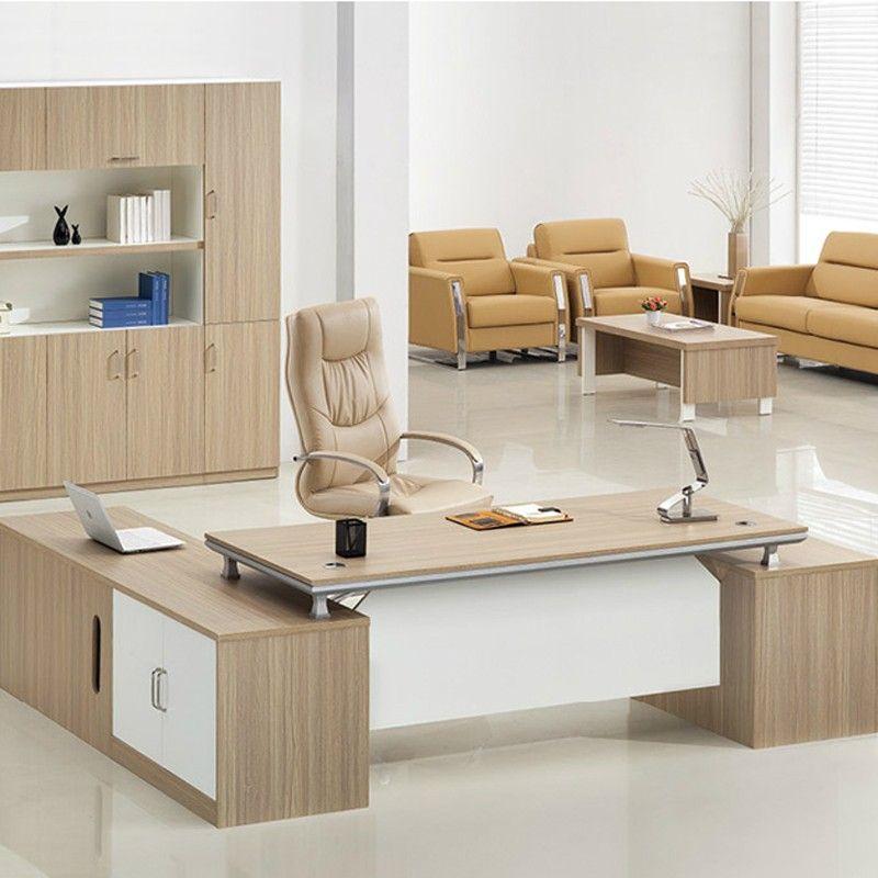 Professional Manufacturer Desktop Wooden Office Table