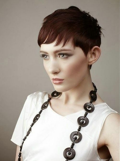 Very Short Hairstyles With Bangs 2014 Prom Hairstyles
