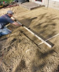 Doing It Right: How To Lay a Level Brick Paver Patio ...