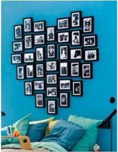 cool headboard ideas to improve your bedroom design love the colors and picture heart idea also resultado de imagem para cortina coracao narjara pinterest rh za