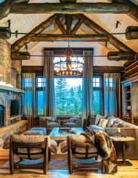 Mountain home great room decor ideas | Make mine rustic ...