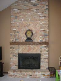 Decoration:Fireplace Designs With Brick Brick Fireplace ...