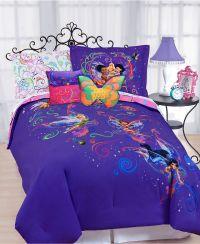 Disney Bedding, Surreal Garden Disney Tinkerbell Comforter