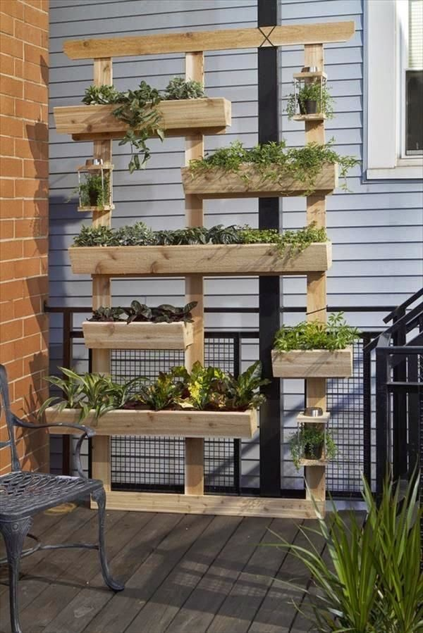 20 Amazing Vertical Gardens For Your Balcony Gardens Planters