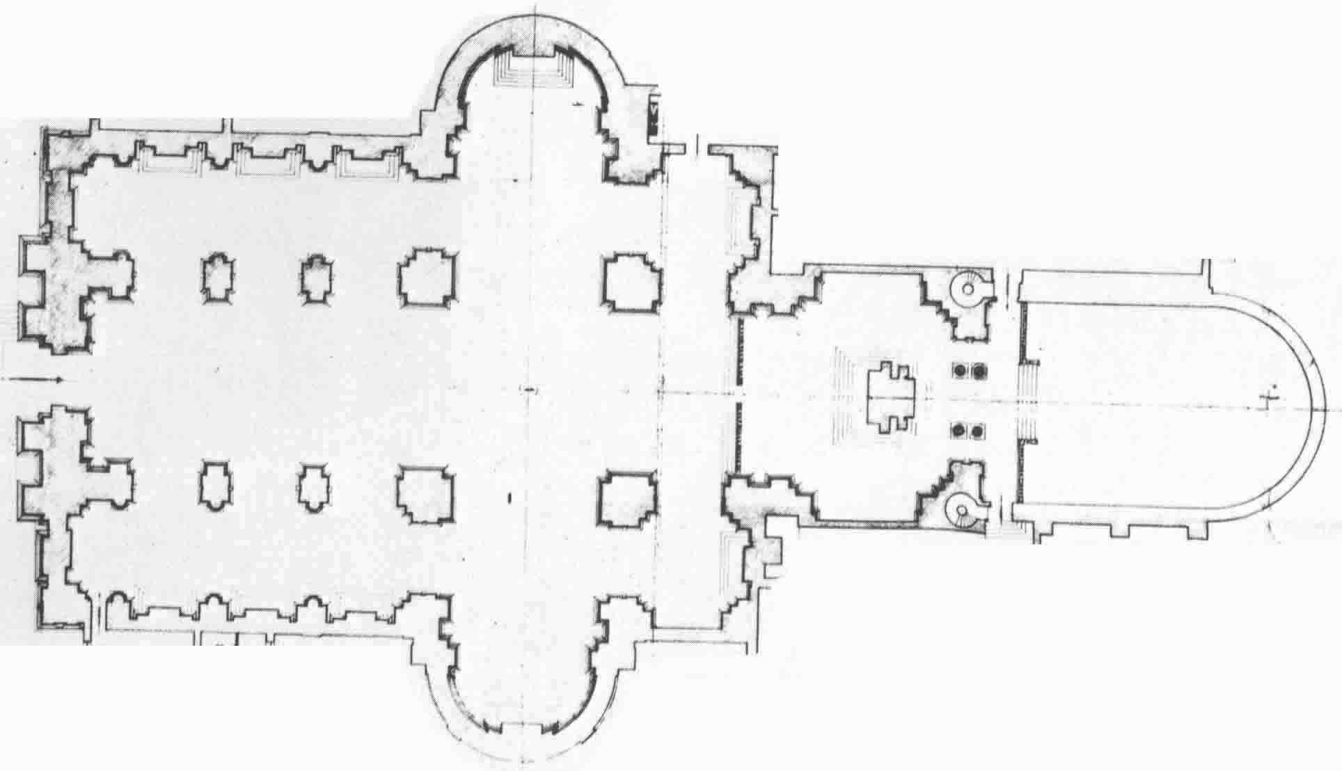 Palladio San Giorgio Maggiore Plan