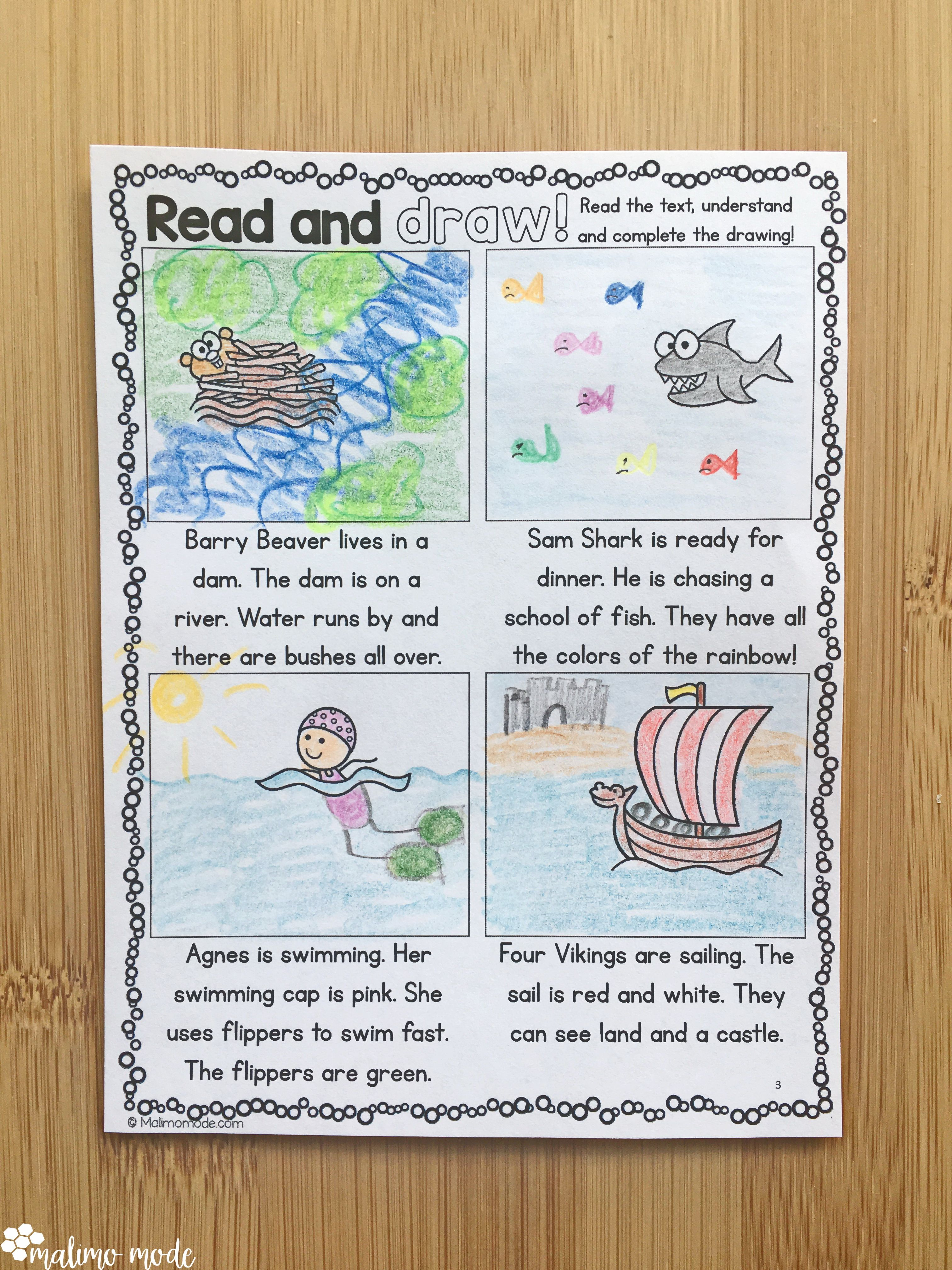 Drawing Based On Reading Comprehension 3