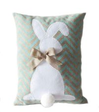 Burlap Easter Bunny Pillow-Blue | Baby | Pinterest ...