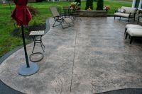Stamped Concrete Patio for Patio Flooring Style with Many ...